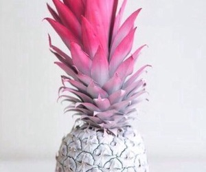 pineapple, pink, and white image