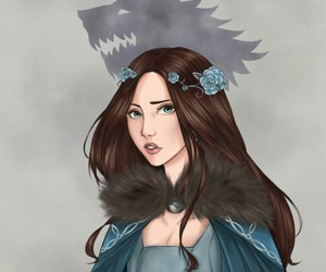 blue rose, game of thrones, and song of ice and fire image