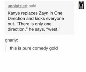 comedy, kanye west, and popular image