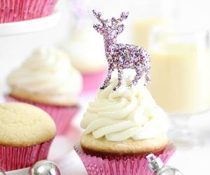 cupcake, christmas, and sweet image
