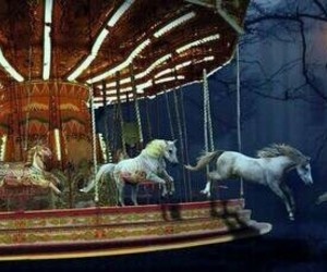 horse and carousel image