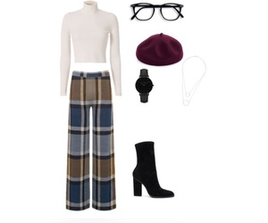 fall, outfit, and Polyvore image