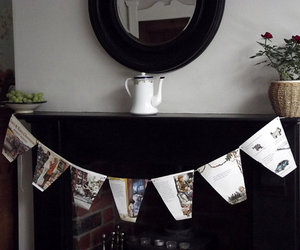 christmas, vintage, and paper bunting image