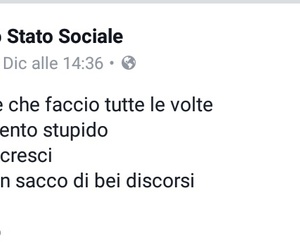 facebook, frasi, and frasi italiane image