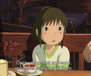 spirited away, anime, and quotes image