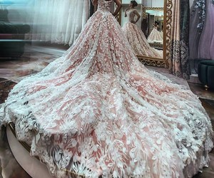 beautiful, dress, and fashion image