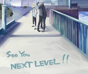 anime, yoi, and yuri on ice image