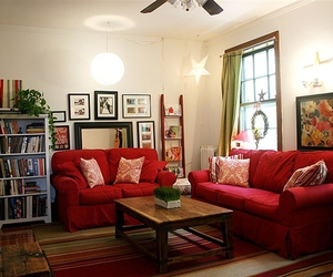 apartment, decoration, and living room image