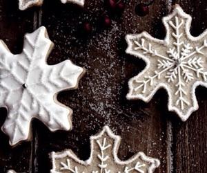 christmas, happiness, and food image