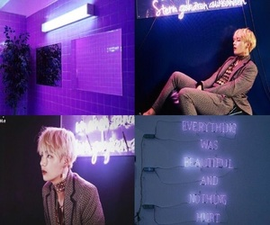 aesthetics, purple, and v image