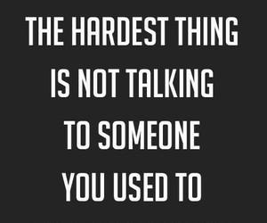 quotes, hard, and sad image