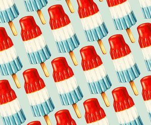 pattern, food, and popsicle image