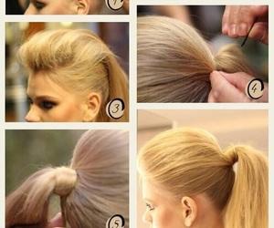 hair, lindo, and sencillo image