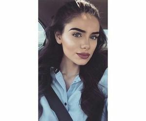 albanian, beauty, and makeup image