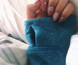 design, fake nails, and nail image
