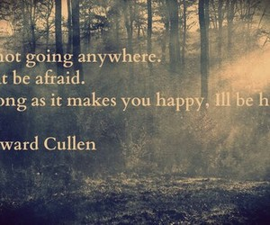 quote, edward cullen, and forest image
