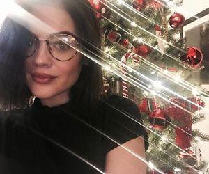 lucy hale and christmas image