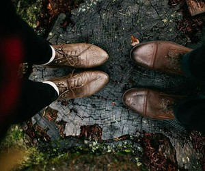 couple, shoes, and boots image