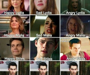 teen wolf, derek, and malia image