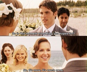 27 dresses, movie, and wedding image
