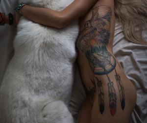 alternative, tattoo, and art image