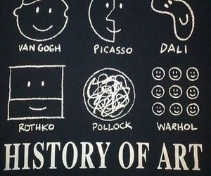 art, history, and picasso image