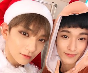 Seventeen, joshua, and DK image