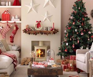 christmas, decoration, and christmas tree image