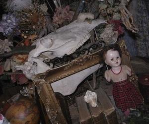 creepy and dolls image