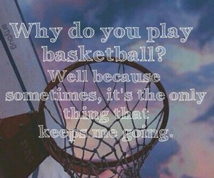 Basketball, quotes, and emo image