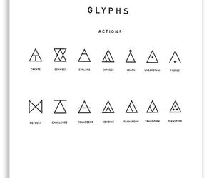 fantasy, symbols, and glyphs image