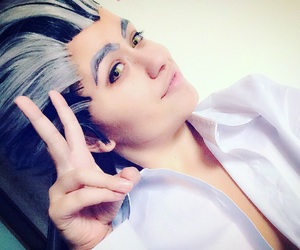 cosplay, haikyuu, and bokuto image