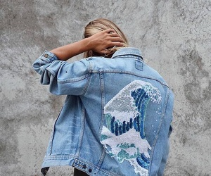fashion, denim, and girl image