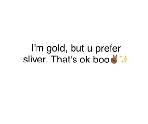 gold, quote, and true image