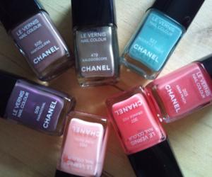 chanel, colors, and nail polish image