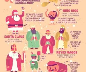merry christmas, feliz navidad, and regalos image