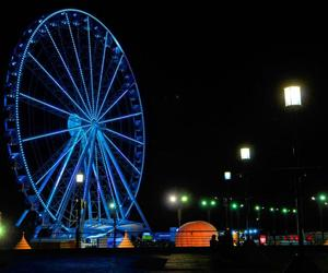 guayaquil and beautiful night blue image