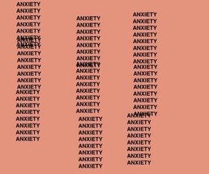 anxiety, aesthetic, and orange image