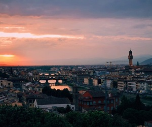 city, florence, and landscape image
