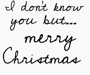 black and white, frases, and merry christmas image