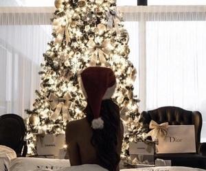 christmas, winter, and dior image
