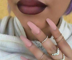 cool, lip stick, and ring image
