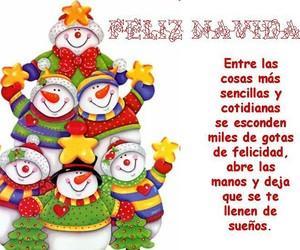 christmas, navidad, and frases español image