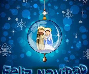 christmas, frases español, and feliz image