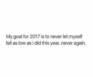 goals, 2017, and quotes image