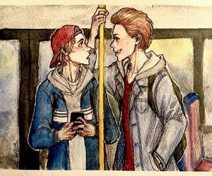 skam, even, and isak image