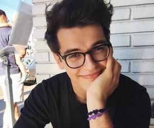 boy, blake steven, and glasses image