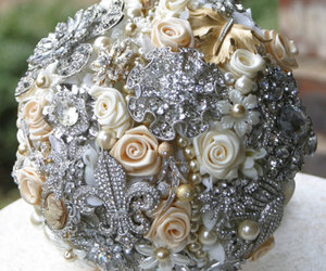 bouquet, bridal, and weddings image