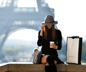 paris, gucci, and style image