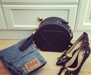 bag, cool, and jeans image